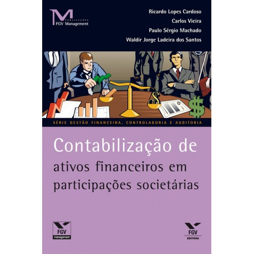 Contabilização de ativos financeiros em participações societárias