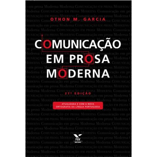 Comunicação em prosa moderna