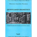 Quintiliano Gramático - O Papel do Mestre de Gramática na Institutio Oratoria